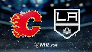 Monahan, Tkachuk power Flames past Kings in OT, 4-3