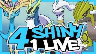 4 SHINY EN UN LIVE !!! EPIC REAC ! POKEMON ULTRA SOLEIL LUNE