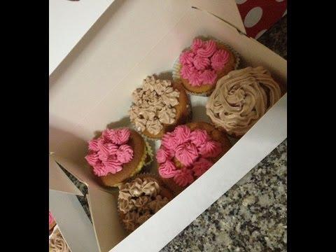 Receta Básica para Cupcakes Rellenas  ( Magdalenas Rellenas)