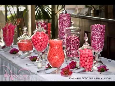 Wedding Candy Buffet Ideas Youtube