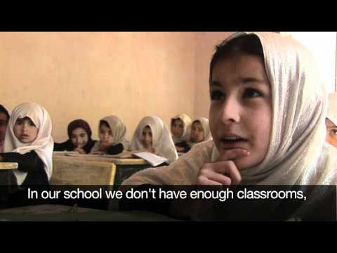 Education in Afghanistan - a message from the children