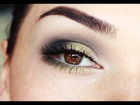 Olive Green Smokey Eyes Tutorial Youtube