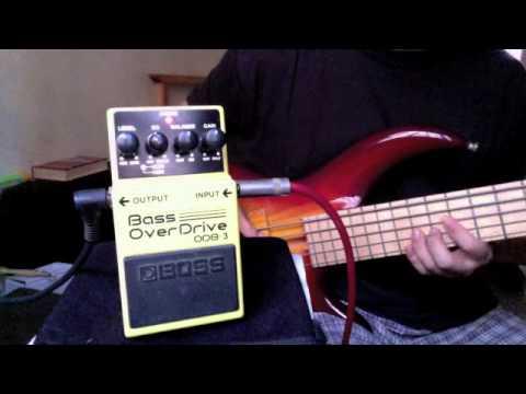 Boss ODB-3 Bass Overdrive demo