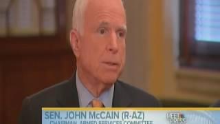 John McCain and Lindsey Graham Speak On Russian Hacking