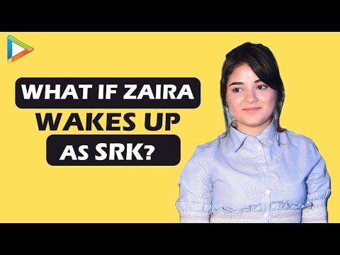 Zaira Wasim's SUPERB Rapid Fire On SRK, Aamir Khan, Salman Khan, Advait Chandan | Secret Superstar thumbnail