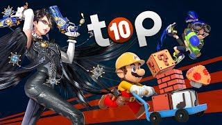 Les 10 meilleures exclusivités de la WII U !   TOP 10