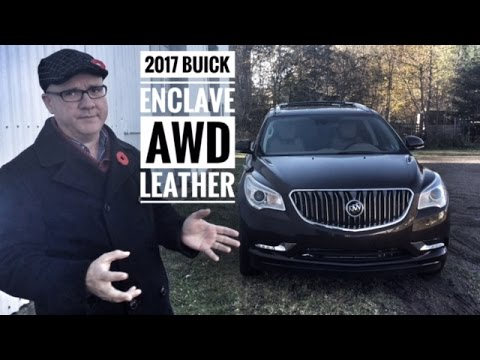 2017 Buick Enclave AWD Leather Truro Road Test and Review | Pye Chevrolet Buick GMC