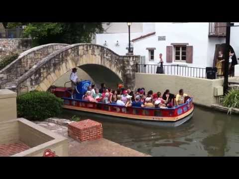What To Do In San Antonio TX - River Walk Cruise Boat Tour