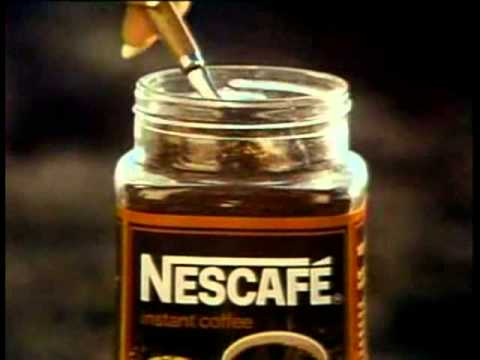 Nescafe Coffee 1977 TV commercial