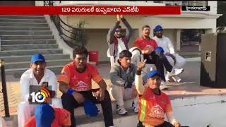 Media Premier League:  Beat NTV by 14 Runs   Hyderabad