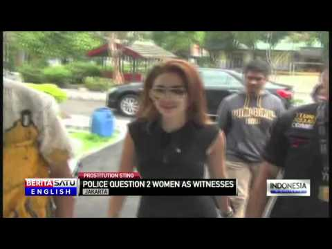 Police Questions Actress and Miss Indonesia Finalist as Witness