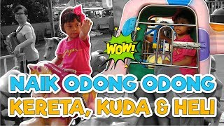 Naik odong odong di Season City | Amusement Park Fun Adventure