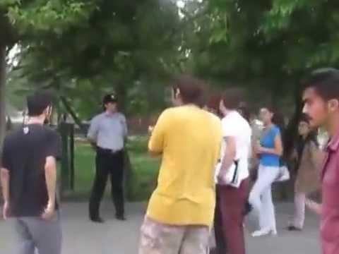 Trakya Üniversitesi'ne sivil polis belinde silahla girdi