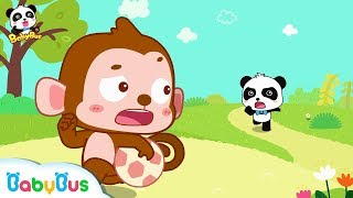 Nicky Takes Baby Panda's Soccer Away | Kids Loves Sharing | Picture Book Cartoon for Kids | BabyBus
