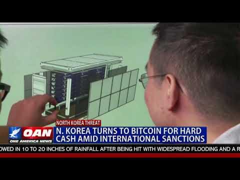 N. Korea Turns to Bitcoin For Hard Cash Amid International Sanctions