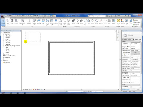 Revit Architecture 2012 - Tutorial 01