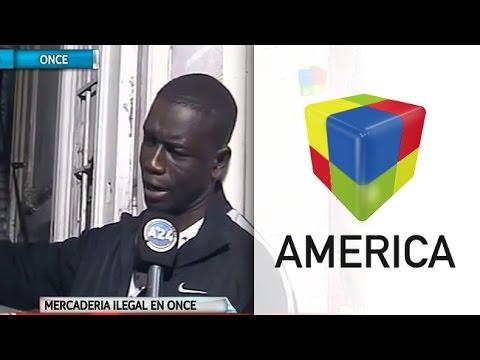 Mercadería ilegal: desbaratan un depósito de senegaleses