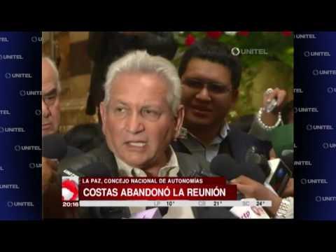 Rubén Costas abandonó el Consejo tras ser ?cuestionado? por el ministro Arce