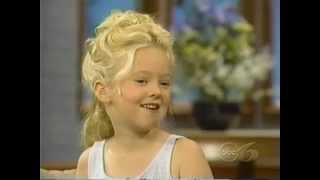Madylin Sweetin interview 1998. Age 6