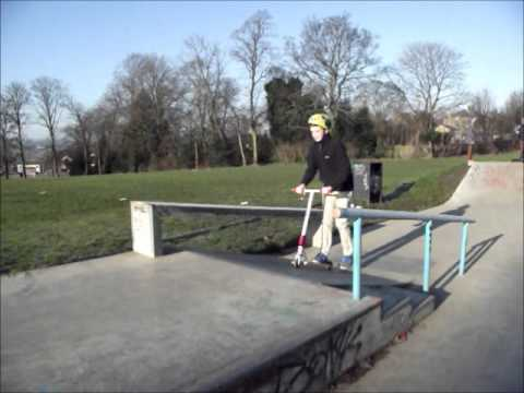 Amateur scooter edit (Day at Knowel park)