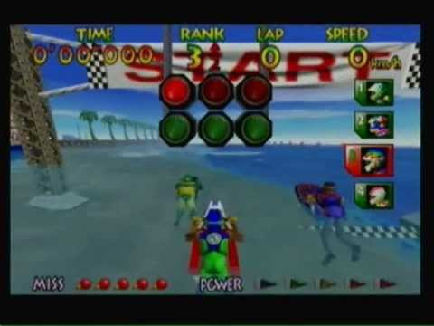 Wave Race 64-All 8 Expert Courses