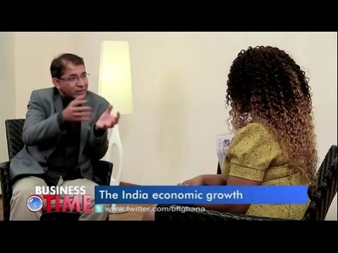 The India Economic Growth - a talk with Ayaz Shafi