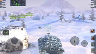 World of Tanks Blitz - Jagdpanzer E100 gameplay