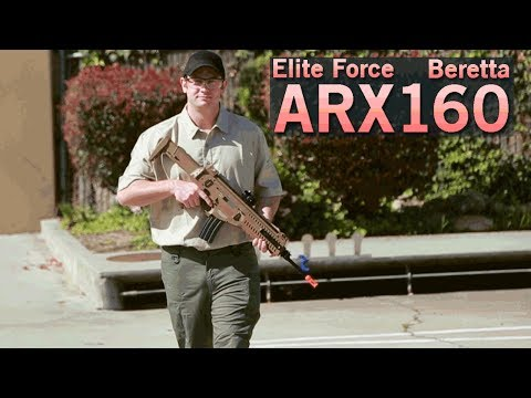 Beretta ARX160 Elite by Elite Force - Lightweight & Quick Change Barrel   Airsoft GI