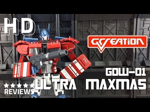 Gcreation GDW-01 Ultra Maxmus Transformers Masterpiece IDW Optimus Prime
