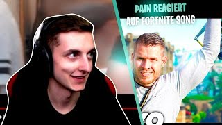 "PAIN reagiert auf FORTNITE SONG ,,Skybase"" Standart Skill feat. Ayanda (Official Music Video)"