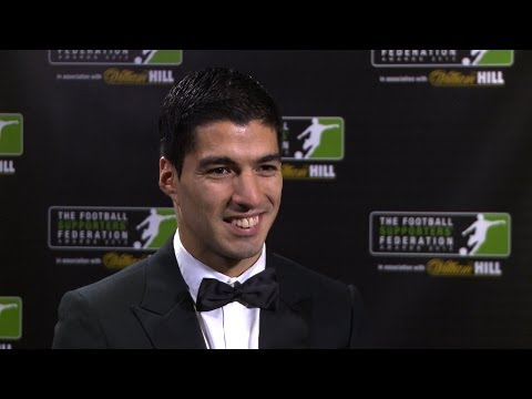 FSF Awards 2013 - Player of the Year - Luis Suarez