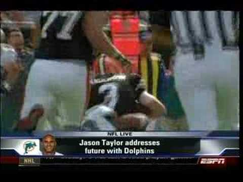 ESPN NFL Live on Jason Taylor Video