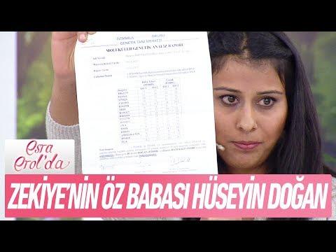DNA sonucuna göre Zekiye'nin öz babası Hüseyin Doğan! - Esra Erol'da 19 Aralık 2017