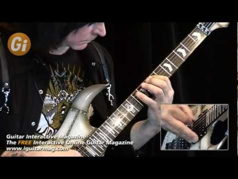 Michael Angelo Batio - Free Guitar Lesson - Alternate Picking - Guitar Interactive Magazine