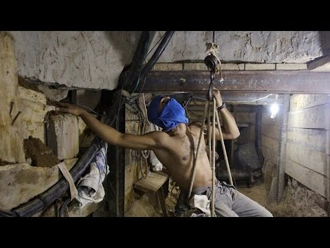 Hamas Gaza Tunnels and Israel Bombing Campaign