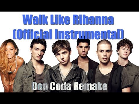The Wanted- Walks like Rihanna Instrumental I OFFICIAL INSTRUMENTAL VIDEO I Free HQ Download