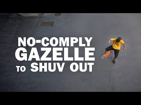 No-Comply Gazelle to Shuv Out: Mauricio Nava || ShortSided