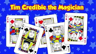 Learn the Princes Card Trick with Tim Credible the Magician