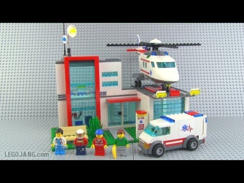 LEGO City Helicopter Rescue 4429 review!