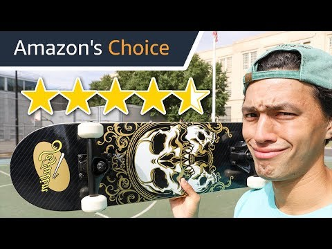 Amazon Chooses My Skateboard!