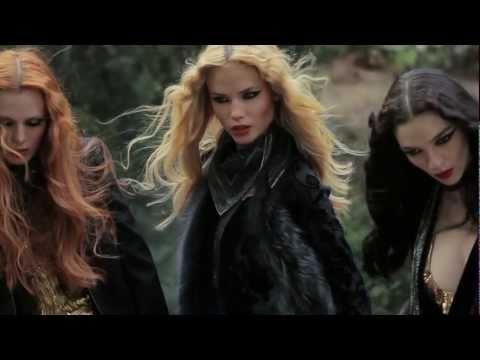 Roberto Cavalli Fall 2011 Campaign: Behind The Scenes