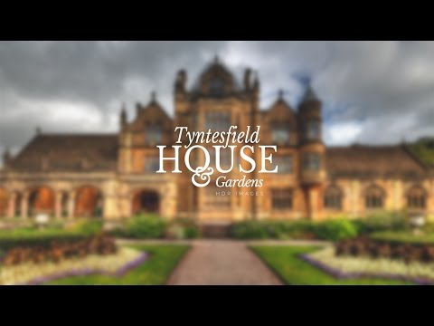 Tyntesfield House & Gardens, North Somerset, HDR photographs