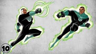 Top 10 Alternate Versions Of Green Lantern – John Stewart Shocking Facts