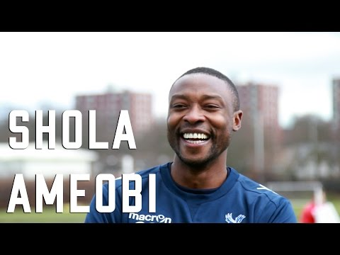 SHOLA AMEOBI EXCLUSIVE INTERVIEW