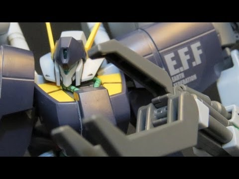 HGUC Byarlant Custom (Part 4: Verdict) Gundam Unicorn EFF Gunpla model review 