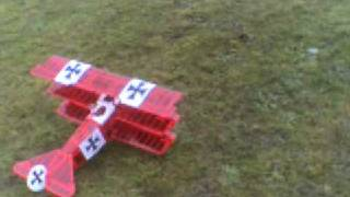 rc Fokker DR-1 balsa BMI red baron