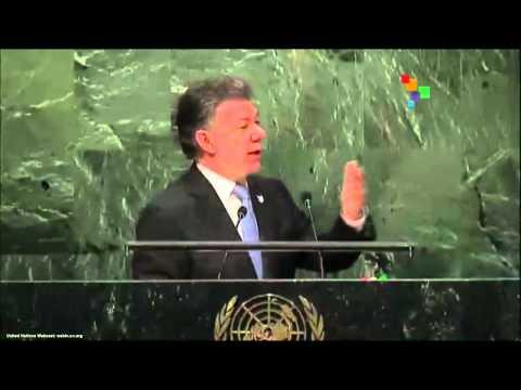 UN Speeches: Colombian President Juan Manuel Santos