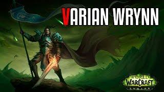 Varian Wrynn Historia Completa (Lore)
