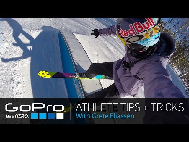 GoPro Athlete Tips and Tricks: The GoPro App and Freestyle Skiing with Grete Eliassen (Ep 12)