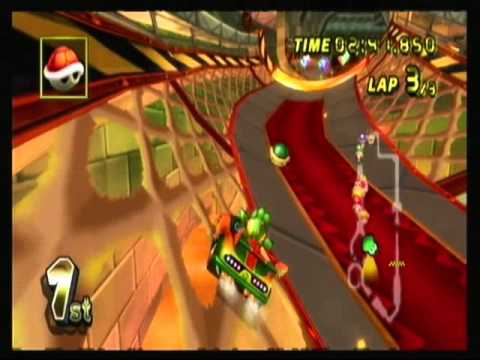 Stayed with Dazzle for better picture / Mario Kart Wii / Part 7 / Special Cup